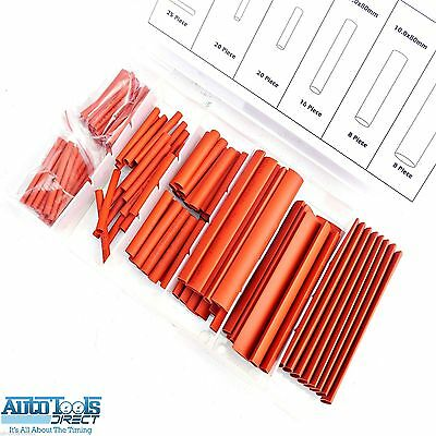 Heat Shrink Tube Set rubber Tubing Shrinks Wire joints Insulation 127pc EL119