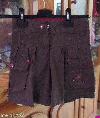 jupe culotte Sergent Major taille 7 ans