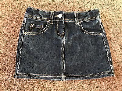 Girls George Denim Skirt Age 6-7 Used