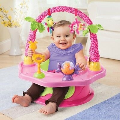 Baby Toddler Chair Toy Seat Play Activity Booster Foam Support Girl 3 Stage NEW