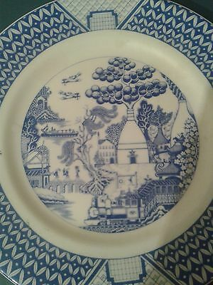 Gladstone Pottery Museum Potteries Willow Plate.