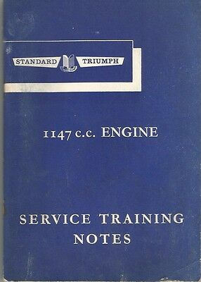 Triumph Training Notes 4 cylinder Spitfire and Herald