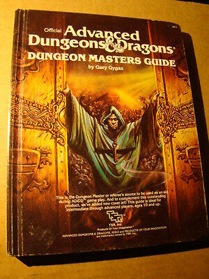 Dungeon Masters Guide Revised Dungeons Dragons Tsr 1St Edition