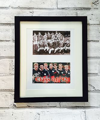 Manchester United Class of 92 framed football print montage souvenir memorabilia