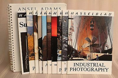 Hasselblad Booklets - Lot of 10 & Ansel Adams - Industrial, Police, Aerial