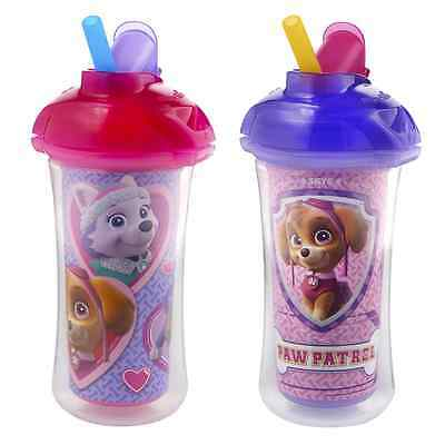 Munchkin Paw Patrol Click Lock Insulated Straw Cup, 2 Count