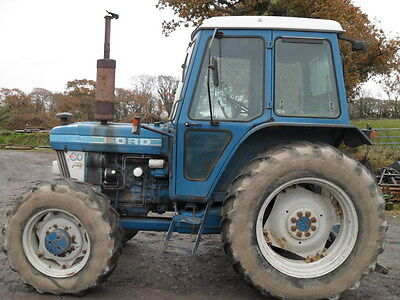 Ford 6610 Q Cab 4WD Tractor