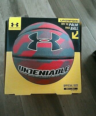 "Under Armour UA Undeniable 29.5"" Street Basketball Outdoor Basketball Official"