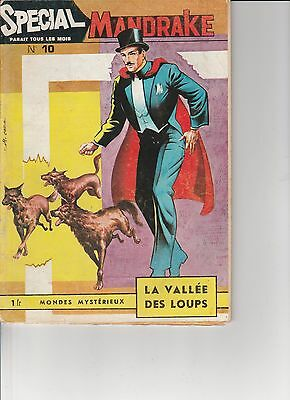 Mandrake Special No 10 Vintage French comic - Good condition