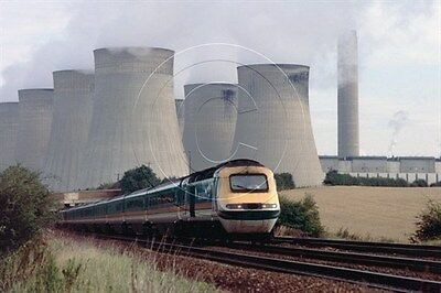 Colour Photo of Midland Mainline Class 43 HST at Ratcliffe-on-Soar 1998