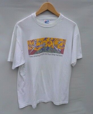 """Vintage Apple Macintosh """"Those Amazing People And Their Flying Machines"""" T-shirt"""