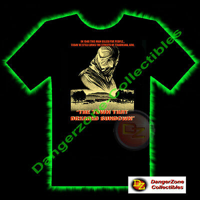 The Town That Dreaded Sundown Horror T-Shirt by Fright Rags (Medium) - NEW