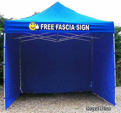 Aluminium 40cm Gazebo Catering Trailer Market Stall printed sign fast delivery