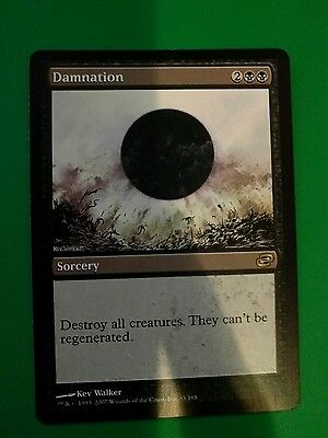 1x Damnation MTG (NM Condition - Check scans)