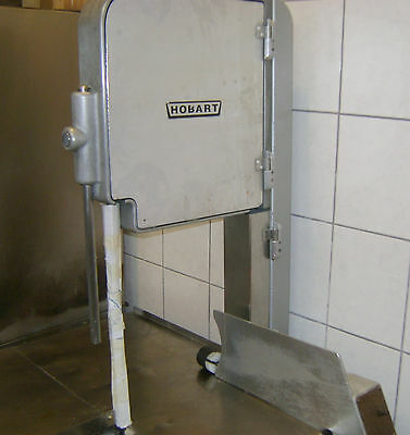 Hobart 1-1/2 hp Vertical Butcher Meat Band Saw # 5114 Stainless Steel 1725 RPM