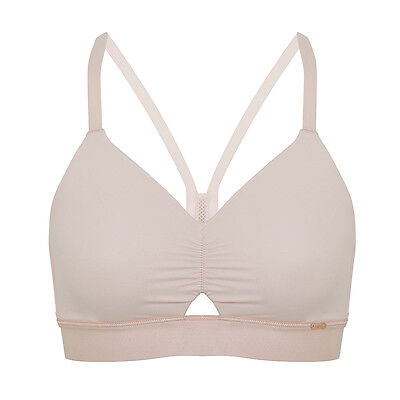Brand New Ex M&S Rosie Autograph Non-Wired Full Cup Crop Top Pink Sizes S-M-L