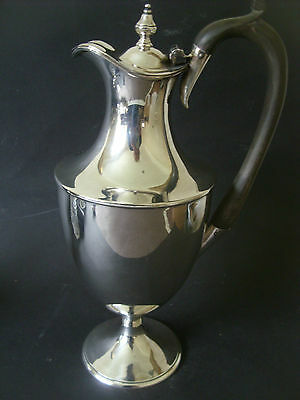 A Good Quality Solid Silver Wine Ewer Assayed London 1904