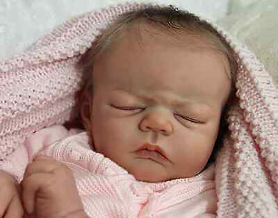 "New Reborn Baby Doll Kit Monroe by Sandy Faber @ 21""@"