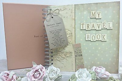 East of India Boxed Travel Book Vintage Gift Crafts Scrapbook
