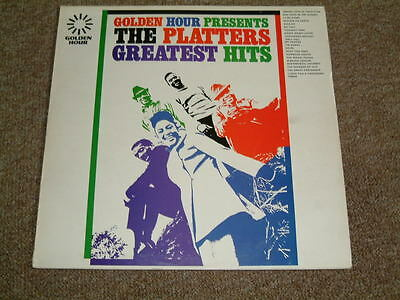 """LP THE PLATTERS - """"Greatest Hits"""" (Golden Hour)"""