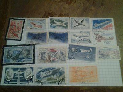 Lot Timbres Poste Aerienne