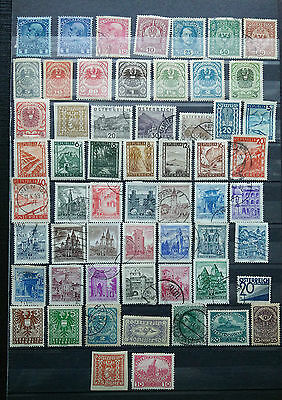 Austria Stamps ~ 1 packed page