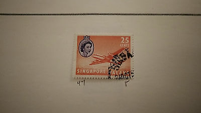 Singapore Airmail Stamp 5 Cent Special