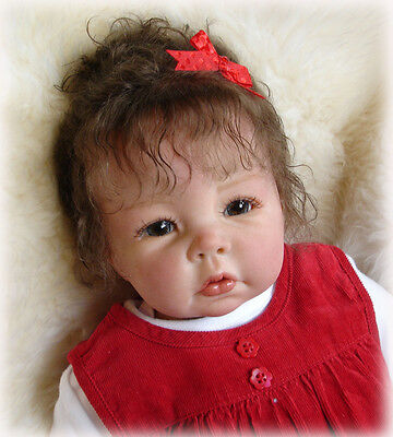 """New Reborn Baby Doll Kit Luca By Elly Knoops @German Vinyl Soft and Light@20"""""""