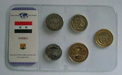 Syria coin set - BU Condition, Various years