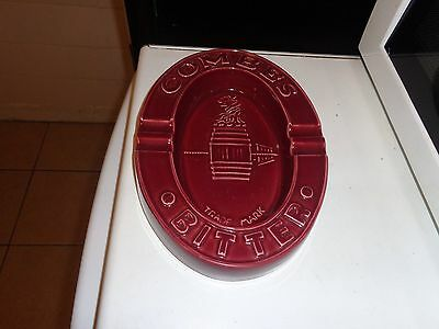 combes bitter vintage ash tray