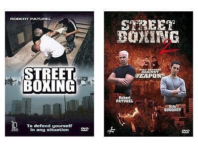 Street boxing and street boxing vol 2 defense againse weapons 2 dvd set SET23