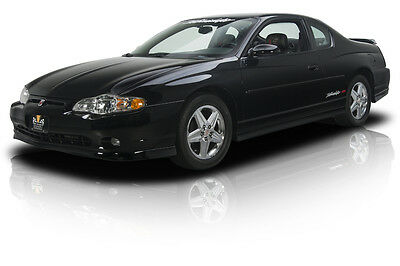 2004 Chevrolet Monte Carlo  6,522 Actual Mile Monte Carlo Intimidator SS Supercharged L67 V6 4 Speed Auto AC