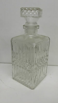bouteille a alcool CARAFE A WHISKY VINTAGE AMBIANCE 22,5 CM