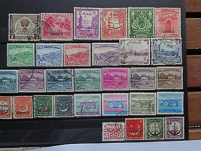 PAKISTAN stamps,used