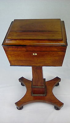 William lV rosewood teapoy