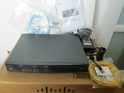 Cisco 888 G.SHDSL Router ISDN Backup Routeur Modem ADSL Commutateur CISCO888