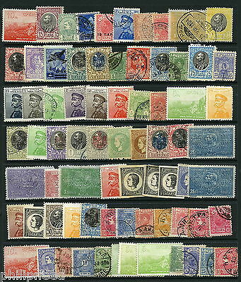 SERBIA Old Mint Hinged & Used x70 from albums [N232