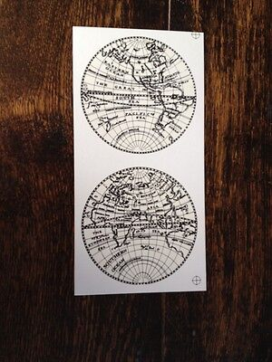 Continent Waterslide Transfers For Longcase Painted Moonphase Dials