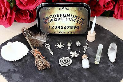 Pocket Travel Altar Kit for Witchcraft and Wicca