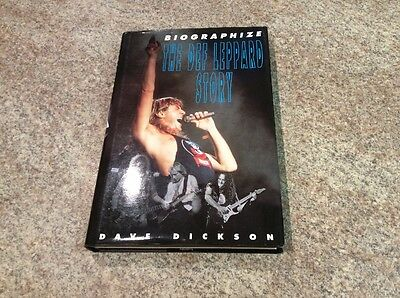 Biographize-The Def Leppard Story By Dave Dickson.