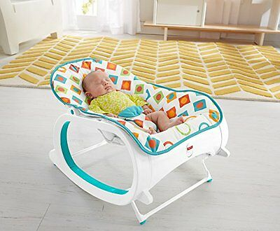 Rocker Seat Bouncer Swing Vibrating Chair Infant to Toddler Fisher Price New Toy