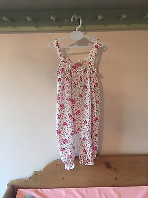 Cath Kidston baby girl dungarees - 3-6 months