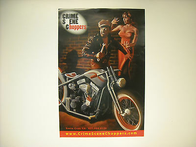 Crime Scene Choppers Poster 24 X 16 Inches