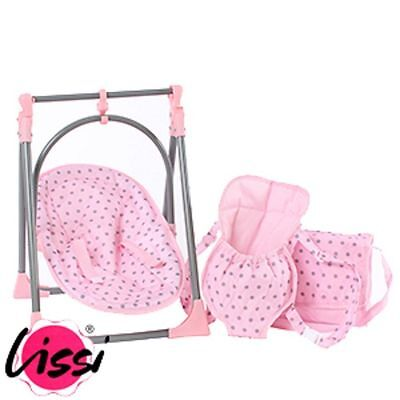 Lissi Baby Boutique 6-In-1 Highchair Swing Baby Carrier Set Brand New Free Uk De