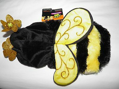 Brand New With Tags Top Paw Pet Dog New Years Eve XS Puppy Bumble Bee Costume