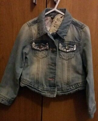 BNWT Girls denim jacket age 3-4 from Next