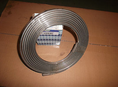 Classic mini chrome effect roof guttering NOS