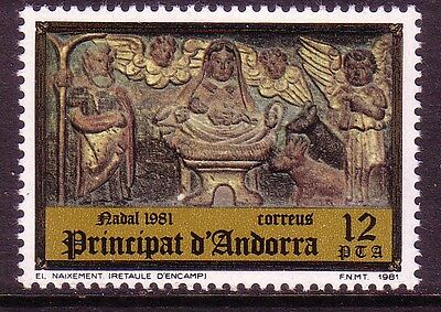 Spanish Andorra. Set from 1981. Edifil 144, 145. Mint never hinged.