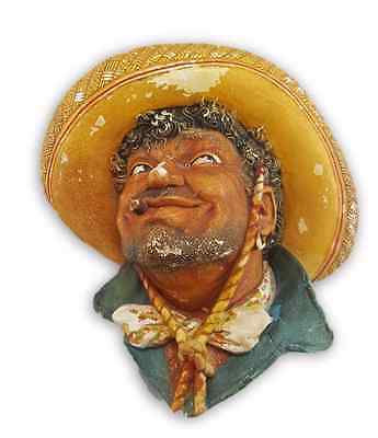 1960 Bossons Wall Plaque 'Pancho'