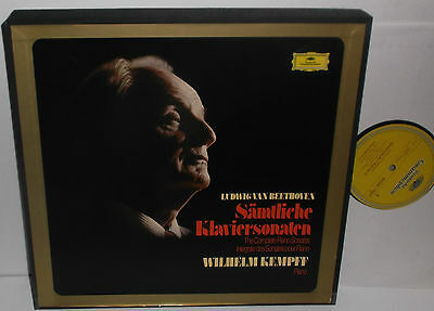 2721 060 Beethoven The Complete Piano Sonatas Wilhelm Kempff 11LP Box Set